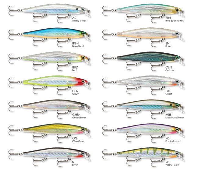 Rapala-Shadow-Rap-Colors