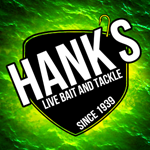 Waterloo, IA: Hank's Live Bait & Tackle Logo