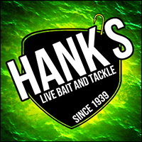 Waterloo, IA: Hank's Live Bait & Tackle Retina Logo
